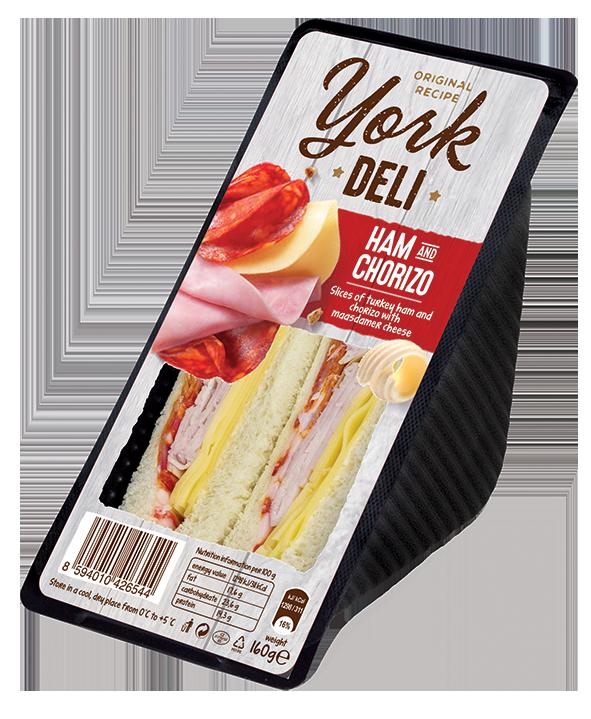 York Deli Ham & Chorizo