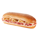 York Deli Ham & Cheese baguette
