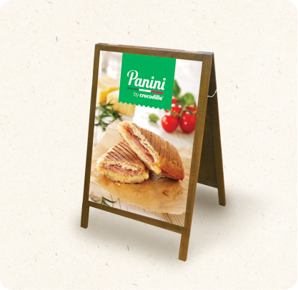 Panini Wooden A-type Stand