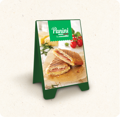 Panini Green A-type Stand