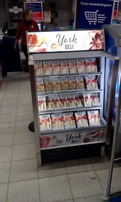 York Deli Supermarket Refrigerator
