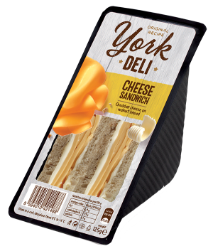 York Deli Cheese sandwich
