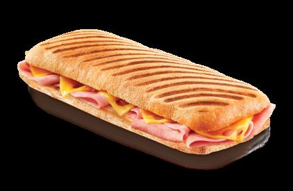 Panini microwave - Prague Ham & Cheese