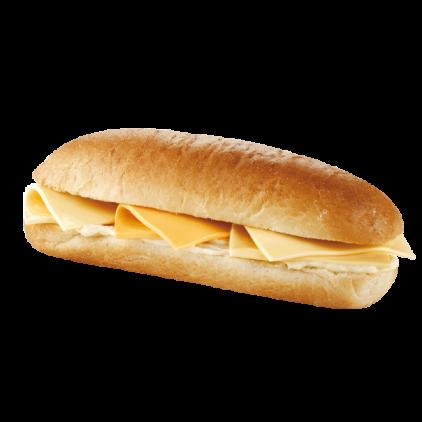 York Deli Cheese baguette