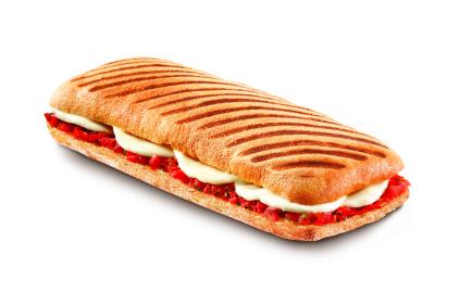Panini Mozzarella & Tomato