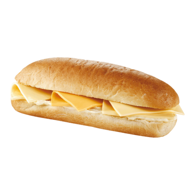 York Deli Cheese baguette