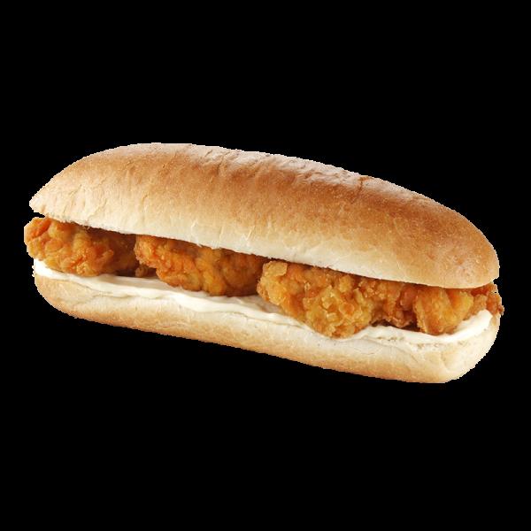York Deli Chicken Strips baguette