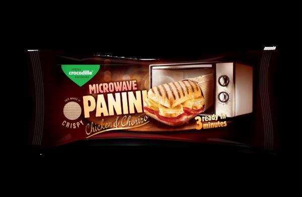 Panini microwave - Chicken & Chorizo