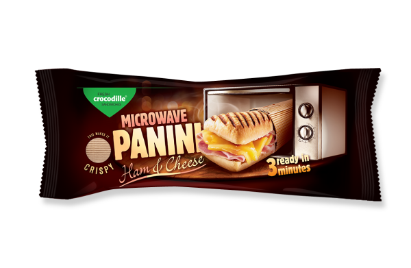Panini microwave - Prague Ham & Cheese