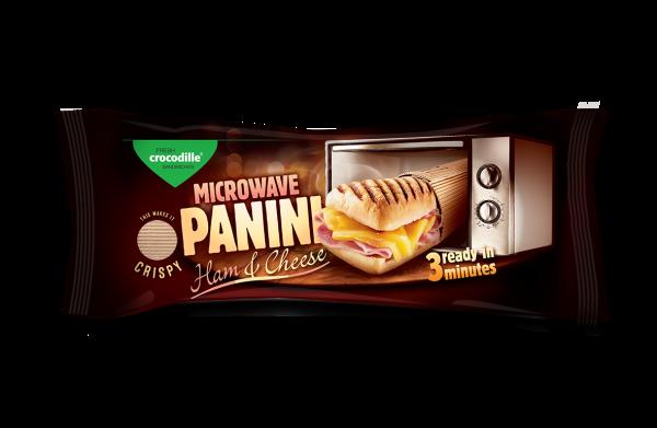 Panini microwave - Ham & Cheese