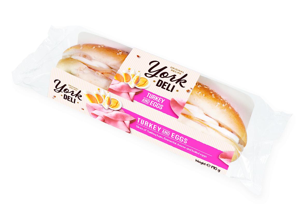 York Deli Ham & Cheese